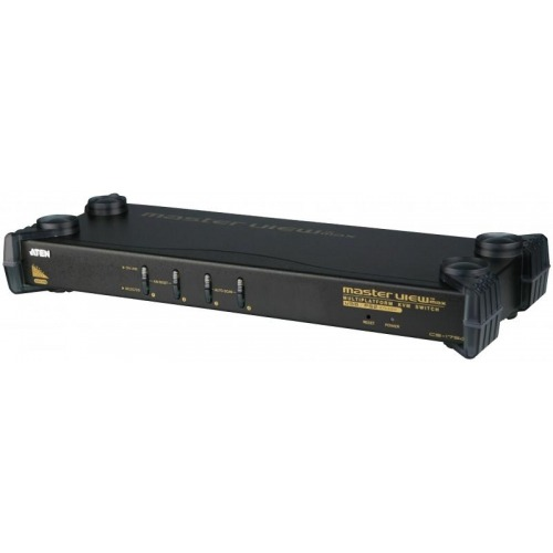 KVM switch 4-port VGA USBmultisep/PS/2