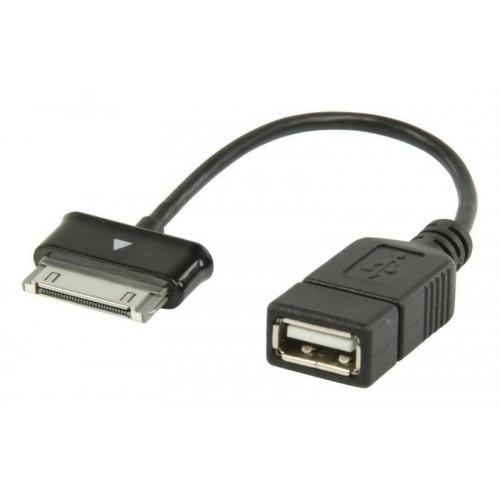 Cable de datos USB OTG 2.0 A - Samsung 30-pines de 0.20 m