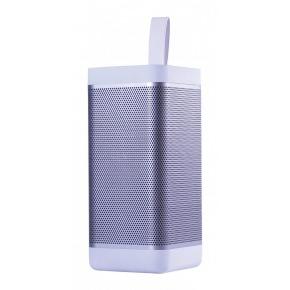 Altavoz inalámbrico Bluetooth en blanco
