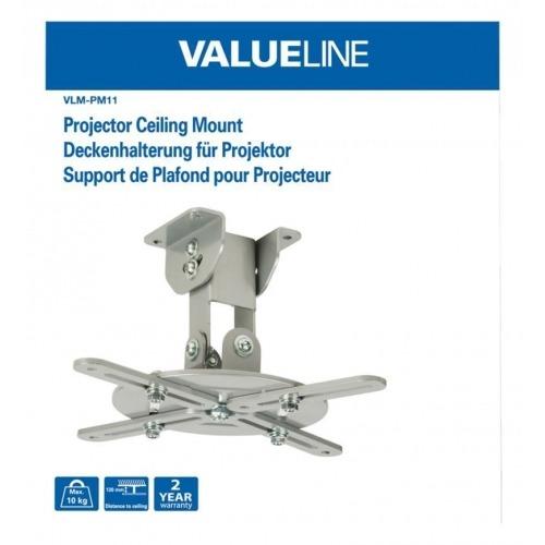 Soporte de techo para proyector de hasta 10 kg/22 libras