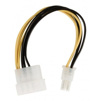Cable De Adaptador De Alimentación Interna, Molex Macho – Pci Express Macho, 0,15 M Multicolor