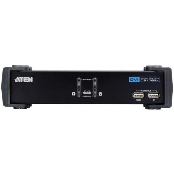 KVM switch 2-port DVI-I USB 2.0