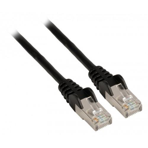 Cable de red FTP CAT5e, RJ45 macho – RJ45 macho, 1,00 m, negro