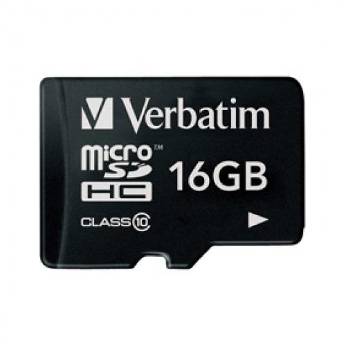 Tarjeta MicoSDHC 16 GB Clase 10