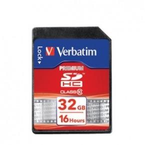 Tarjeta SDHC 32 GB Clase 10
