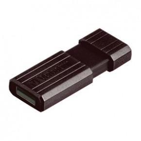 Lápiz de memoria USB 2.0 de 32 GB PinStripe negro