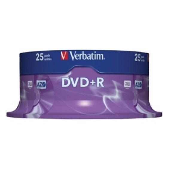 DVD+R 4.7GB 16x Matt Silver 5 uds en estuche