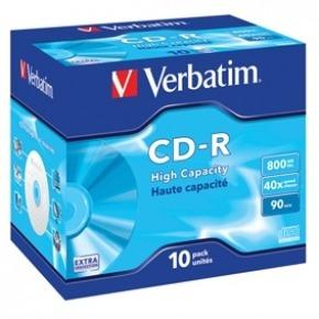 CD-R de 800MB de alta capacidad