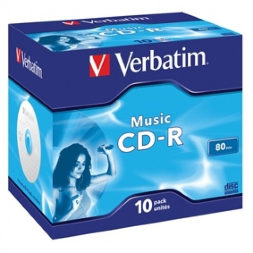CD-R para música 80 min.