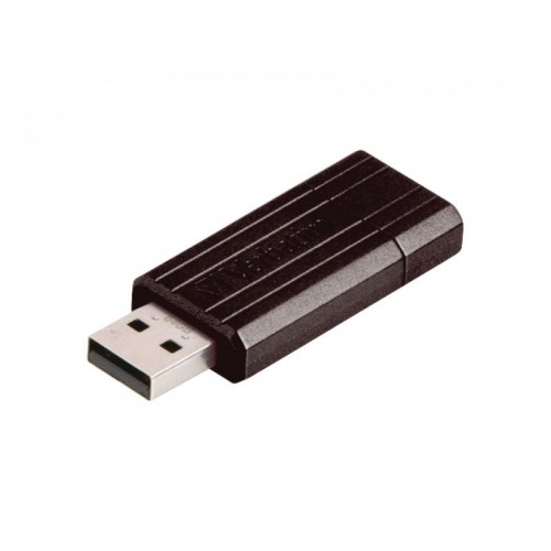 Unidad PinStripe USB de 64 GB* - Negra