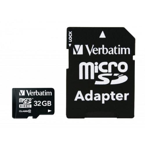 Micro SDHC 32 GB* - Clase 10 con adaptador