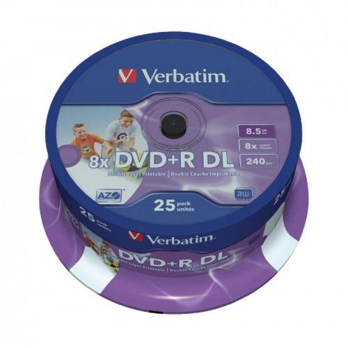 DVD+R Double Layer Inkjet Printable 8x