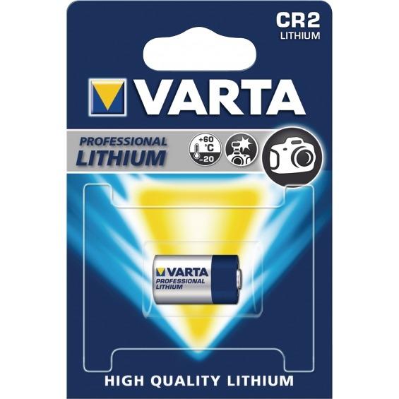 Pila de de litio CR2 para cámara de fotos 3 V 920 mAh