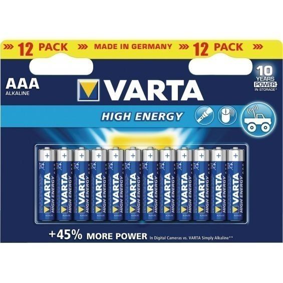 Batería alcalina AAA/LR03 1.5V