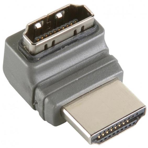 Adaptador HDMI® de alta velocidad con Ethernet a un Ángulo de 270°