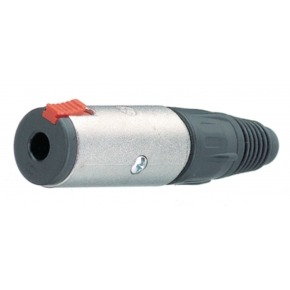 Jack socket 6.35 mm 3P