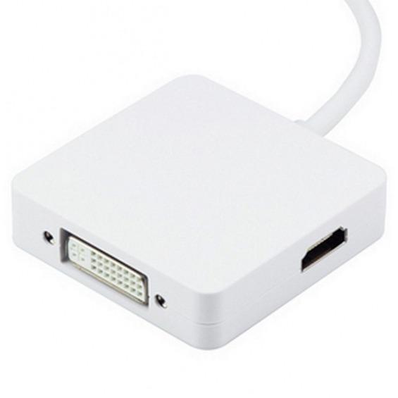 Adaptador Mini DisplayPort aDVI, DHMI y DISPLAYPORT