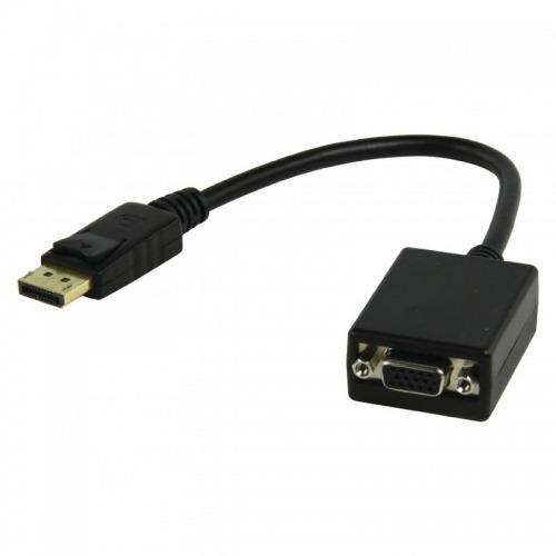 Cable-adaptador displayport a VGA hembra de 0.20 metros