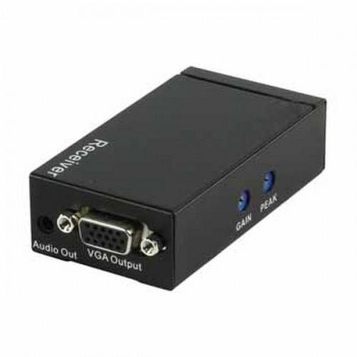 Receptor de Extenders de señal VGA y AUDIO