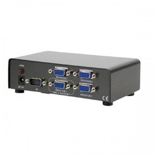 Splitter VGA 4 puertos 150MHz 4xVGA HEMBRA x 1 MACHO