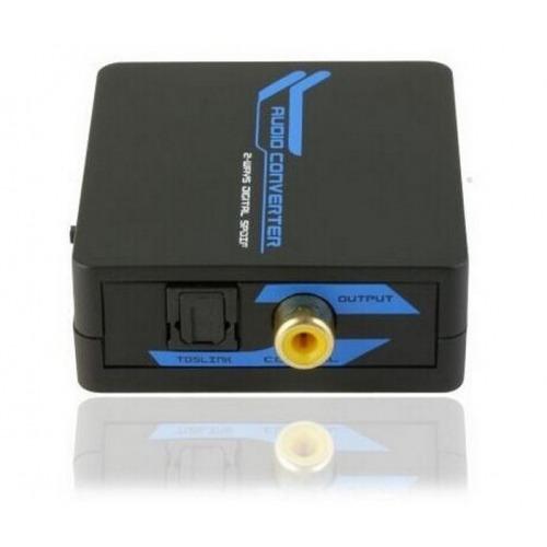 Conversor Bidireccional audio Coaxial y óptico
