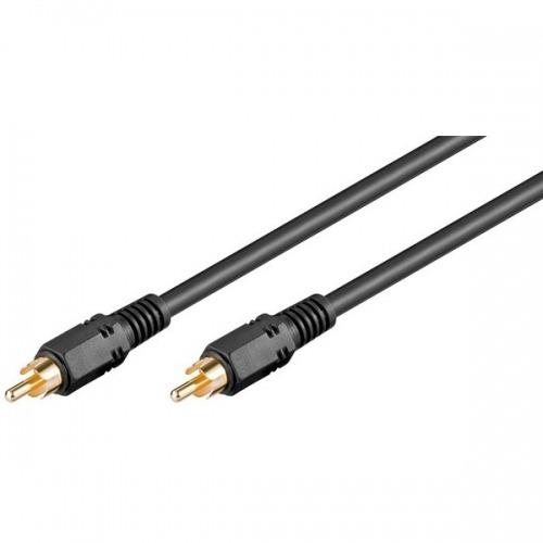 Cable Audio Digital Coaxial (RCA-Macho a Macho) 2m