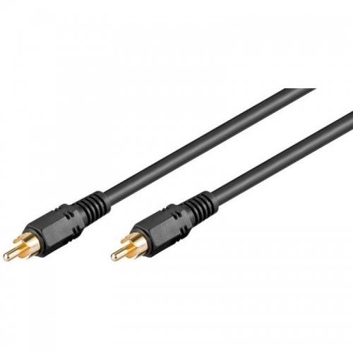 Cable Audio Digital Coaxial (RCA-Macho a Macho) 1m