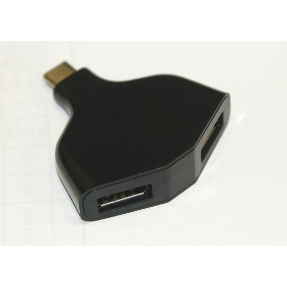 HUB compacto USB 3.1 a 2 puertos USB 2.0 OTG.