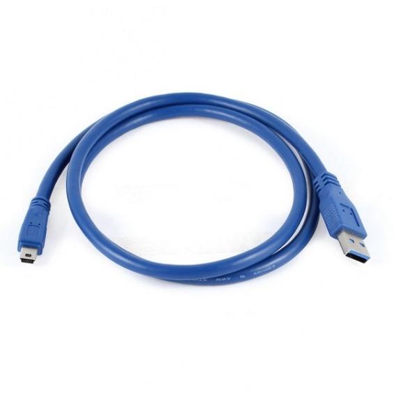 Cable USB 3.0 (AM/mini USB 5P/M) de 1.00m