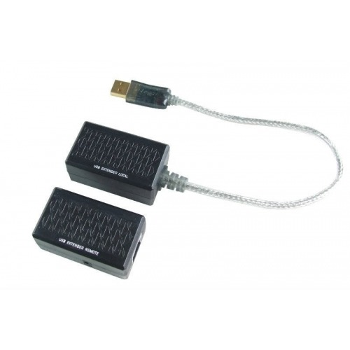 Extender de USB hasta 50m.Compatible con USB 1.1