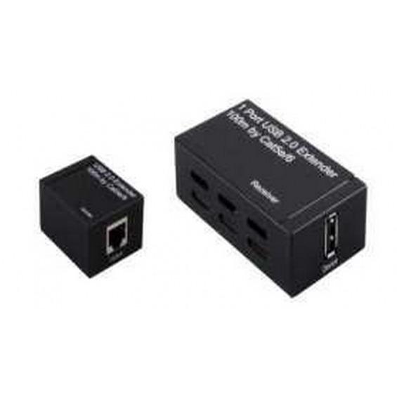 Extender de USB hasta 100m.Compatible con USB 2.0