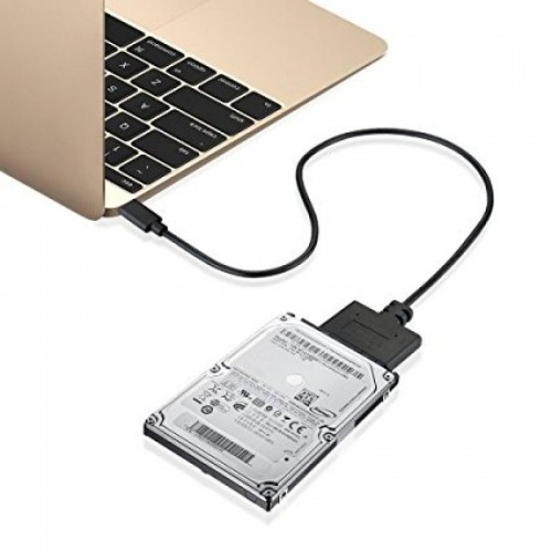 Adaptador USB 3.0 Tipo C a Sata 3