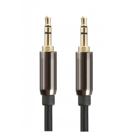 Cable de audio estéreo jack 3.5mm macho a macho de 5m apantallado