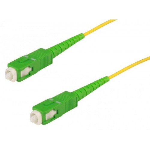 Cable fibra óptica 2XSC/APC monomod 2.00m