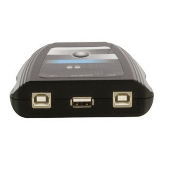 Conmutador manual USB 2.0- 2 x PC a impresora.