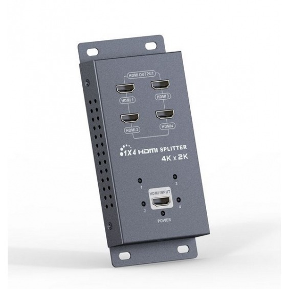 Splitter/ Distribuidor 1 entrada a 4salidas HDMI 4k * 2k