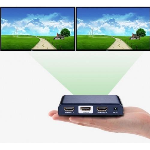 Splitter/ Distribuidor 1 entrada a2 salidas HDMI 4k * 2k