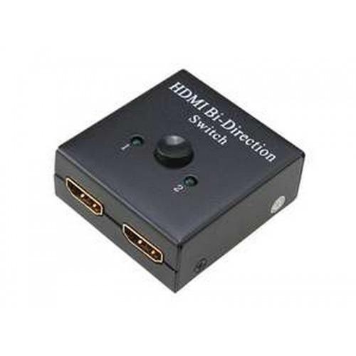 Mini Switch HDMI v1.4 bidireccional 1x2 y 2x1