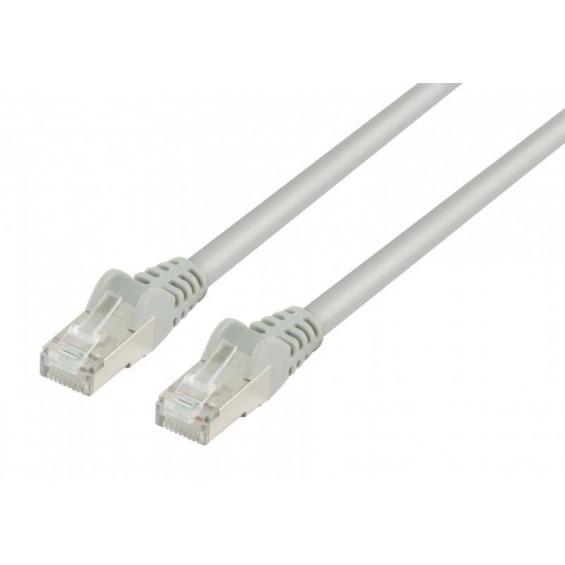 Cable Ethernet FTP CAT7 GRIS 0.25m.