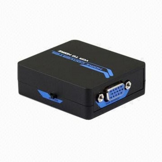 Conversor VGA + Audio Stereo (R/L) a HDMI 1080p.