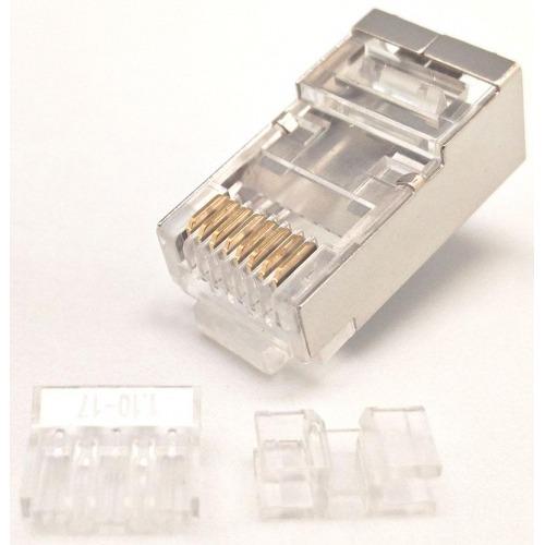 10 Conectores RJ45 para cables FTP CAT6a y CAT7