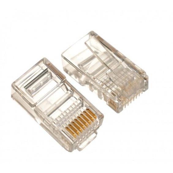 10 Conectores RJ45 para cables UTP CAT5e