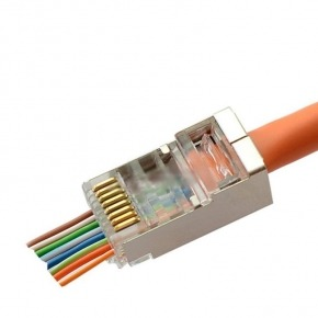 100u CONECTORES FTP CAT6 FACIL