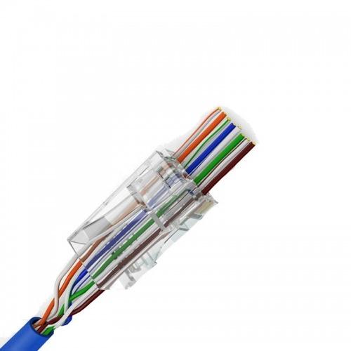10u CONECTORES UTP CAT6 FACIL