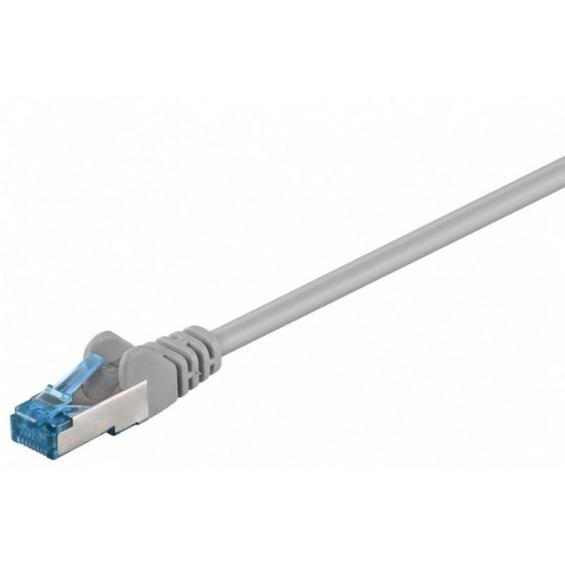 Cable de conexión S/FTP Cat6A LSZH gris 1 metro