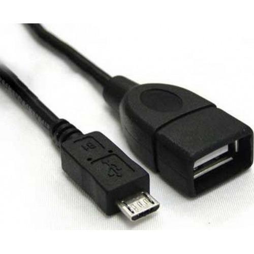 Adaptador USB A/F a MicroUSB M OTG