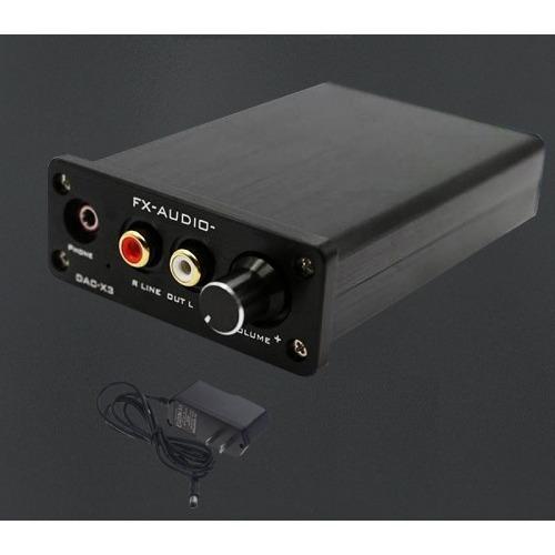 Amplificador Audio Digital a Analógico y tarjeta de sonido externa