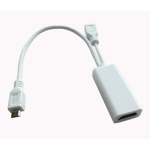 Cable/Adaptador MHL.Adaptador microUSB a HDMI