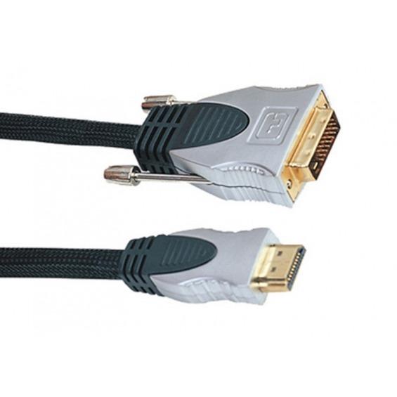 Cable HDMI a DVI(24+1) M/M 3 metros