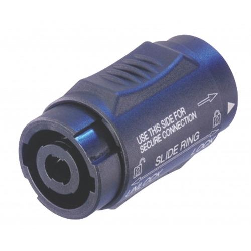 Coupling/adapter, Speakon Negro 4P